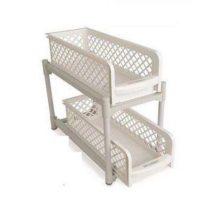 E-Mart Pakistan Portable 2 Tier Basket Drawers