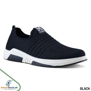 Stylish Black Sneaker