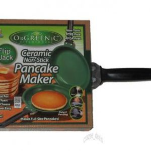 Orgreenic Flip Jack Ceramic Non-stick Pan Pancake Maker 1399+200 Delivery Charges