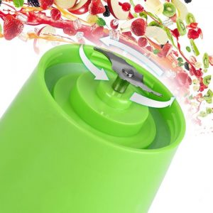 Portable And Rechargeable Battery Juicer Blender 1500+250 Delivery Charges