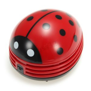 ABS Plastic Ladybug Crumby Mini Vacuum Cleaner 1500+200 Delivery Charges