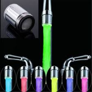 LED Water Faucet Stream Light 7 Colors Changing Glow Shower 1500+200 Delivery Charges