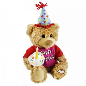Happy Birthday Teddy Bear 2600+200 DELIVERY CHARGES