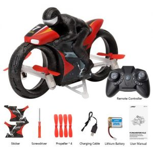 2 In 1 Ground and Flight RC Flying Motorcycle 3300+200 DELIVERY CHARGES