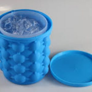 The Original ICE GENIE Ice Cube Maker! Space Saving Ice Cube Maker, Holds up to 120 Ice Cubes-Price 1000+200 Delivery Charges