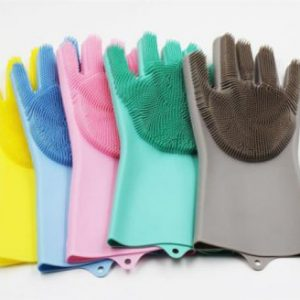 Silicon Hand Scrubbing Gloves Price 1100+200 Delivery Charges