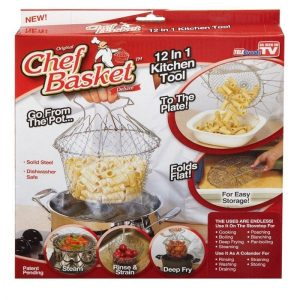 Chef Basket 12 In 1 Kitchen Tool 850+200 DELIVERY CHARGES