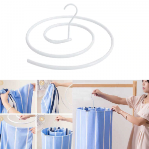 Ognan Spiral Clothes Hanger Quilt Drying Sheet Creative Clothes Hanger Balcony Cool Circular Rotary Bed Sheet Multi-functional Artifact 1000+200 DELIVERY CHARGES